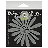 Crafters Workshop Balzer Bits Mask, 4 by 4-Inch, Daisy