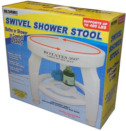 SWIVEL BATH/SHOWER STOOL (ROTATES 360 DEGREES!)