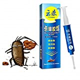 Pests Control & Killer - 10g Powerful Anti Cockroach Pesticide Control Gel Bait Drug Poison Nest Environmental Friendly Genuine Syring - Cockroaches Control Roach - Cockroaches - 1PCs
