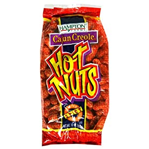 Hampton Farms Cajun Creole Hot Nuts Spicy Roasted In The Shell - 10 Oz from Hampton Farms