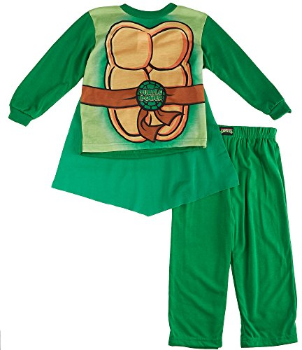 TMNT Ninja Turtles Toddler Costume Pajamas with Cape
