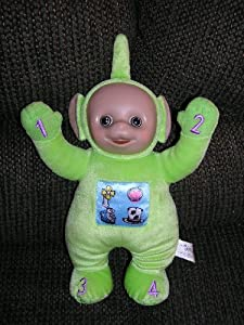 "Teletubbies Plush 13"" Talk and Learn Dipsy Doll"