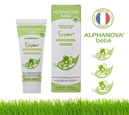 Alphanova Bebe-Baby Natural Nappy Rash Cream (75g)