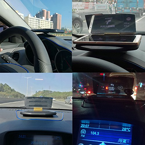 ninthseason universal car gps hud head up display holder. Black Bedroom Furniture Sets. Home Design Ideas