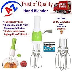 A To Z Sales Hand Blender/Plastic Hand Blender/Hand blender (beating,liquidizing,churning)AZ5036