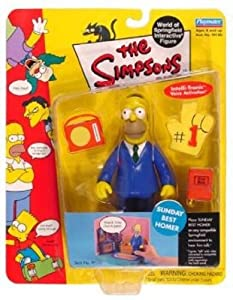 "5"" Simpsons World of Springfield Figure: Sunday Best Homer"