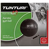 Tunturi Anti Burst Gym Ball, 65cm (Black)
