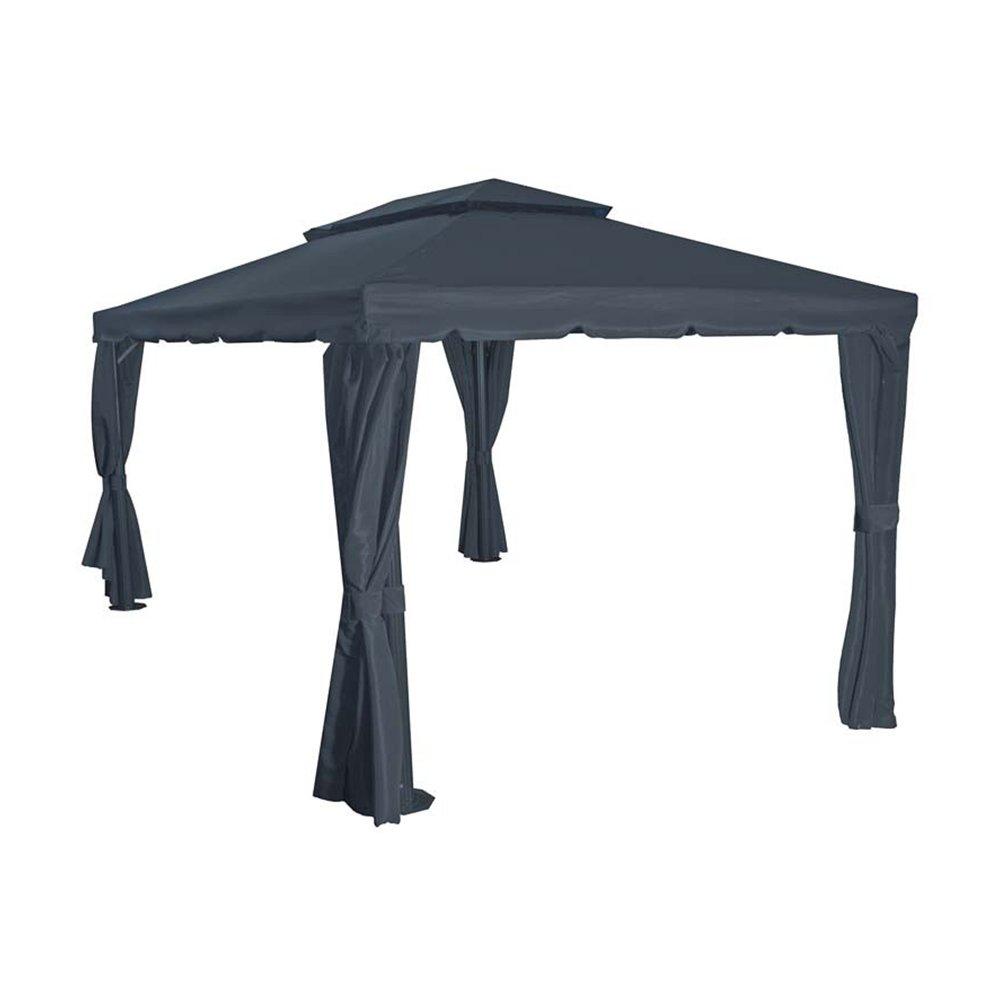 Siena Garden 727476 Dach zu Pavillon Dubai, 3x4m Polyester 250g/m² grau PU-beschichtet online kaufen