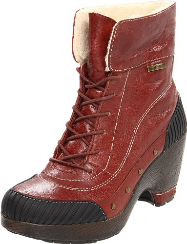 Jambu Women's Netherlands Ankle Boot,Cognac,6 M US