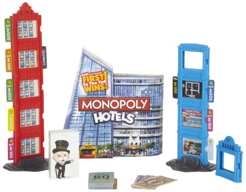 Monopoly Hotels Game (Red Monopoly Hotels compare prices)