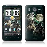 Three Wolf Moon Design Protector Skin Decal Sticker for HTC 