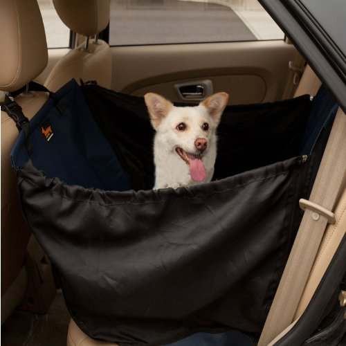Waterproof Thicken Durable Large Dog Car Back Single Seat Covers For Pets H42038 front-467316