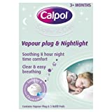 Calpol Vapouriser Night Plug In & 5 Refill Pads