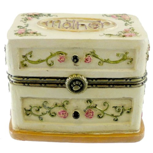 Boyds Bears Momma's Box of Jewels with Hattie Bloominglove Hinged Box 4022316 - NEW!