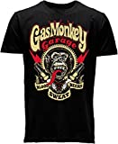 Gas Monkey Garage T-Shirt Sparkplugs Noir-L - connu d'après Fast N' Loud