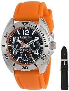 Nautica Men's N11606G Sport Ring Box Set Classic Multi-Function Sport Watch