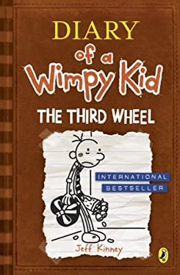 The-Third-Wheel-Diary-of-a-Wimpy-Kid-book-7-Kinney-Jeff-Used-Good-Book