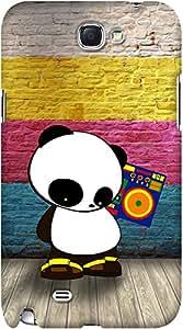 Kasemantra Pop Panda Case For Samsung Galaxy Note 2 N7100