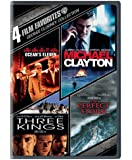 4 Film Favorites: George Clooney (Michael Clayton, Ocean's Eleven, The Perfect Storm, Three Kings)