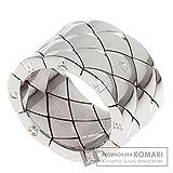 CHANEL(シャネル) 25.9g マトラッセ ラージ リング・指輪 K18ホワイトゴールド レディース (中古)