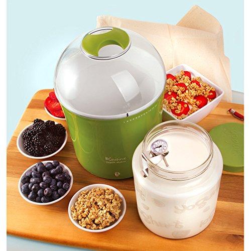 Euro cuisine 8 pc yogurt jar set dealtrend for Apollon greek and european cuisine