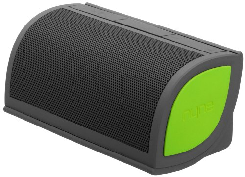 Nyne Multimedia Inc Mini Portable Bluetooth Speaker (Grey/Green)
