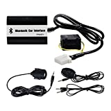 Car Stereo Radio Bluetooth Kit Wireless Music For Mazda 2 3 5 6 323 Miata/MX5 SPD Protege CX7 RX8 Tribute Premacy MPV B-Series Pickup BT-50 (Color: Black)
