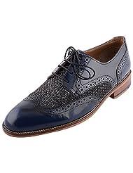 D.Desire Men's Leather Formals & Lace-Up Flats - B00Y1EJS0Y