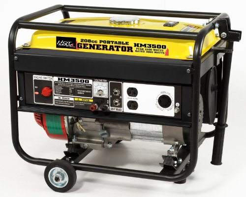 Hot Max HM3500 Rated 3000-Watt 3500 Watt Portable Generator