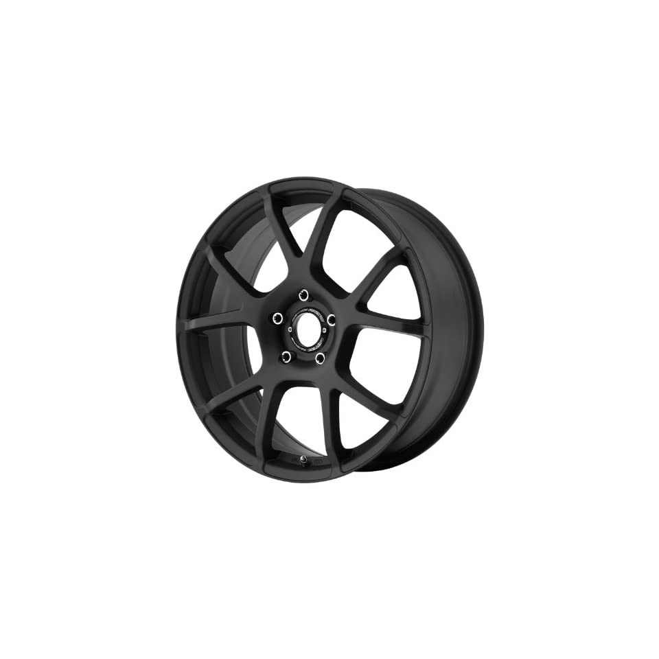 Motegi MR121 18x8 Black Wheel / Rim 5x4.5 with a 45mm Offset and a 72.60 Hub Bore. Partnumber MR12188012745