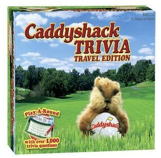 Caddyshack Trivia - Travel Edition