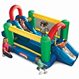 Little Tikes Jump And Double Slide Bouncer, Multi Color