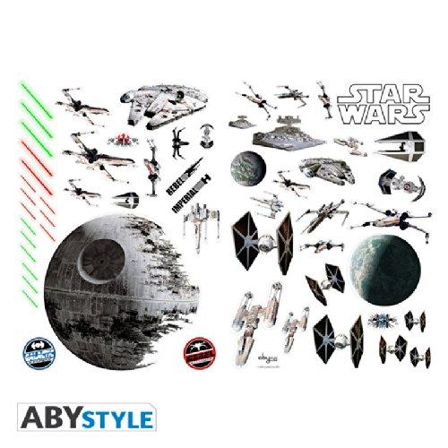 Imagen principal de ABYstyle ABYDCO058 Star Wars - Juego de pegatinas, diseño de batalla especial
