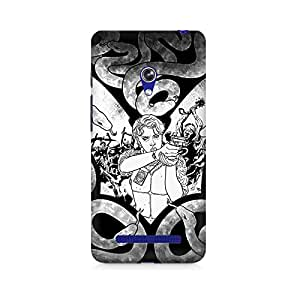 Mobicture Patterns Premium Printed Case For Asus Zenfone Go
