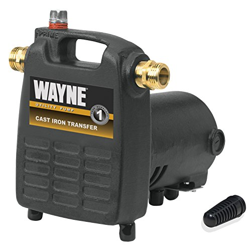 WAYNE PC4 1/2 HP Cast Iron Multi-Purpose Pump With Suction Strainer (Wayne Portable Pump compare prices)