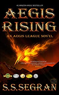 Aegis Rising by S.S. Segran ebook deal