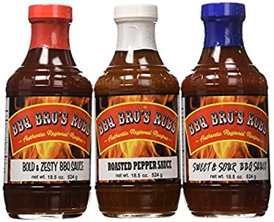 BBQ BROS RUBS {Southern Style} the Ultimate Barbecue Tailgating Set can be used for Grilling, Cooking, Smoking as a Meat & Rib Rub Backed with 100% Customer Guarantee ...