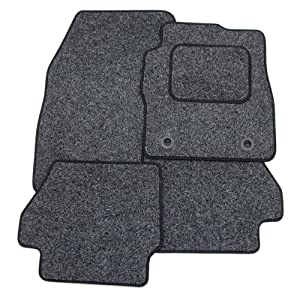 Toyota IQ (2008-present) Tailored Car Mats ANTHRACITE