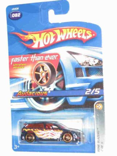 Hot Wheels 2006 #82 082 Bone Blazers Series #2 Audacious FTE Wheels Collectable Collector Car Mattel Hot Wheels 1:64 Scale - 1