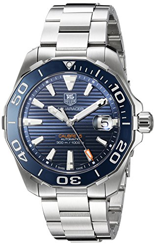tag-heuer-aquaracer-swiss-reloj-automatico-de-acero-inoxidable-de-los-hombres-de-color-silver-toned-