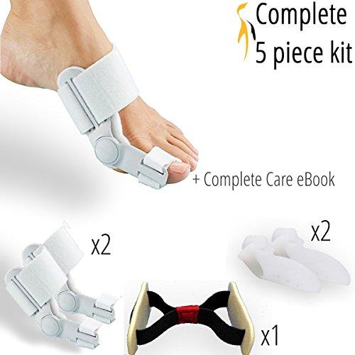 penkwin-5-piece-complete-bunion-relief-bunion-corrector-kit-hallux-valgus-bunion-pads-bunion-splint-