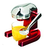 Metrokane Rabbit Citrus Juicer, Metallic Red