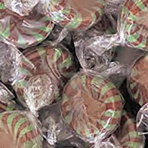 Chocolate Starlight Mints Hard Candy 5LB Bag