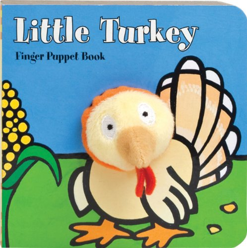 Little Turkey: Finger Puppet Book (Little Finger Puppet Board Books) (Bestseller Books For Kids compare prices)