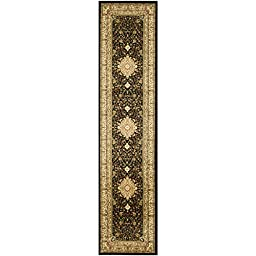 Safavieh Lyndhurst Collection LNH213A Black and Ivory Runner, 2 feet 3 inches by 6 feet (2\'3\