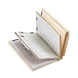 Sparco - Classification Folder,w/Fasteners,2 Divider,Ltr,10/BX,Manila, Sold as 1 Box, SPR SP17254