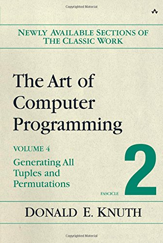The Art of Computer Programming, Volume 4, Fascicle 2: Generating All Tuples and Permutations