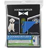 Dogbag BUTLER Pet Dog Waste Bag, Black With Blue
