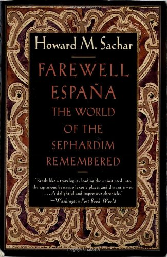 Farewell Espana: The World Of The Sephardim Remembered front-1081741
