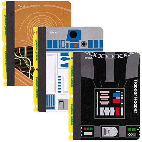 star-wars-trapper-keeper-composizione-di-libri-con-snapper-trapper-mead-pc-portatile-a-righe-confezi